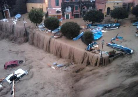 alluvioni in luguria
