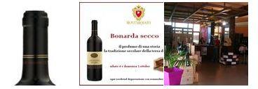 Degustazione di Bonarda  con prodotti Km 0 il 4 e 5 ottobre a Castell'Arquato (PC)