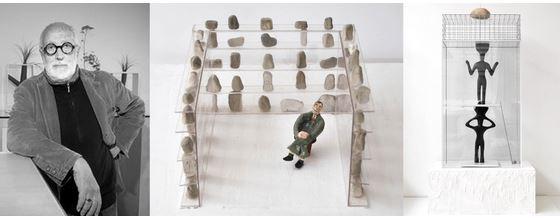 Dolmen di Andrea Branzi alla Galleria Iannone di Milano dal 20 gennaio al 15 febbraio