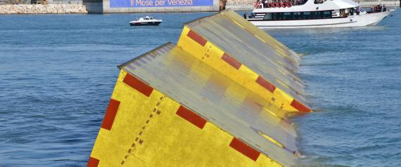Venezia: Mose, oggi test movimentazione paratoie a Lido