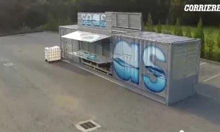 Air to water: un progetto dell'Università di Pavia per estrarre acqua dall'aria