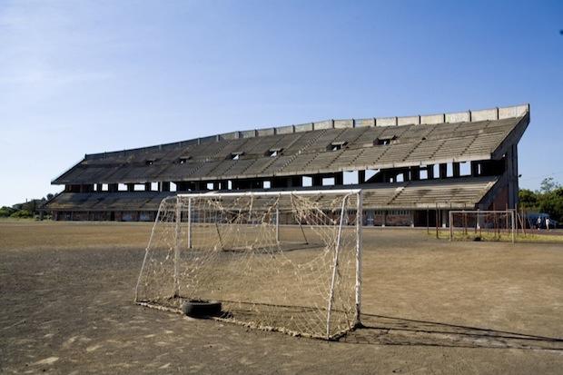 Stadio abbandonato