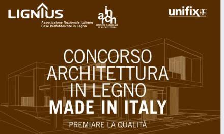 Case di legno: concorso di architettura. Bellezza e sostenibilità