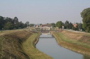 Canale di derivazione dal Po alle Pilastresi