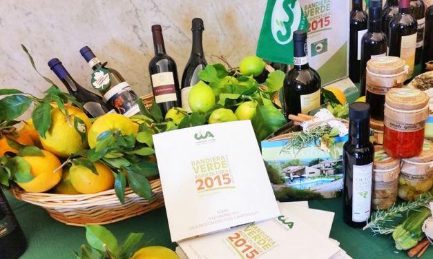 "Palermo ""green"" vince Bandiera Verde Agricoltura 2015"