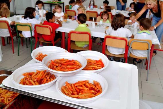 Mensa scolastica: si butta 1 piatto su 8