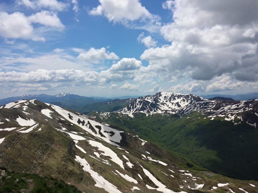 Appennino Tosco Emiliano visto dalla cima del Cusna. Mattia Notari – Foto Flickr