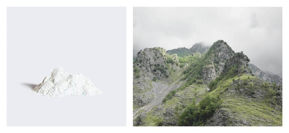 Estrazione di carbonato dalle Alpi Apuane