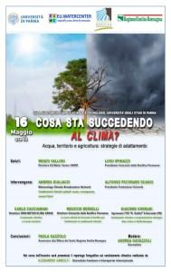 Programma evento 16 maggio