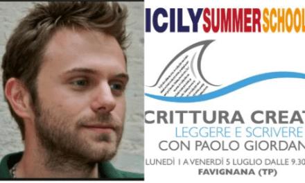 Vacanza letteraria a Favignana con Paolo Giordano