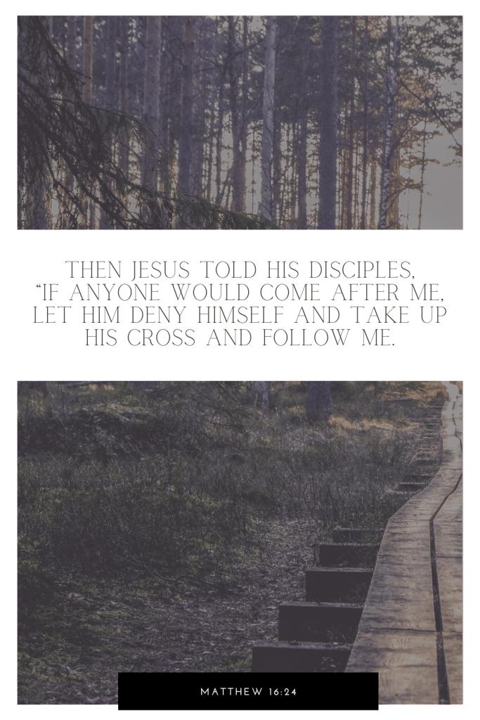 Matthew 16:24