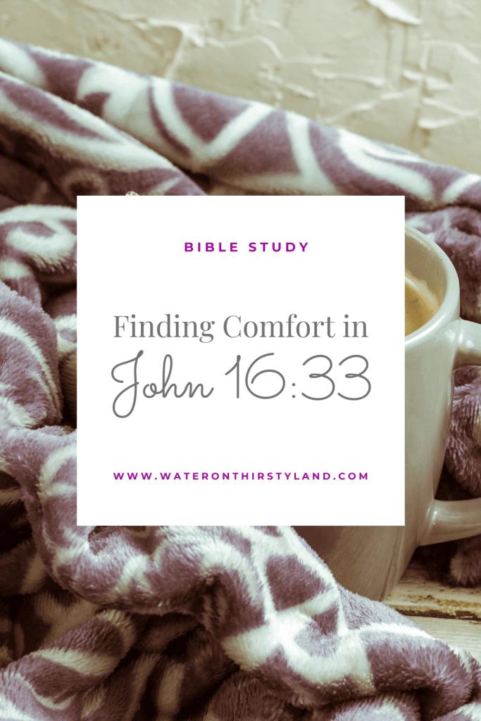 Comfort in John 16_33