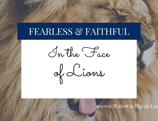 In the Face of Lions