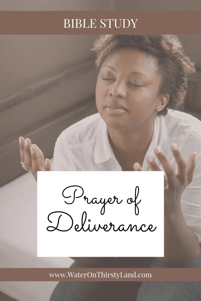 Prayer of Deliverance