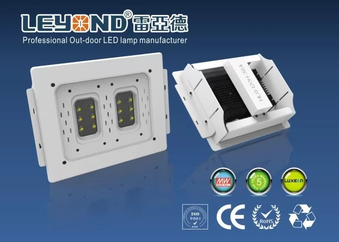Recessed Gas Station Lighting Exterior Canopy Led Light