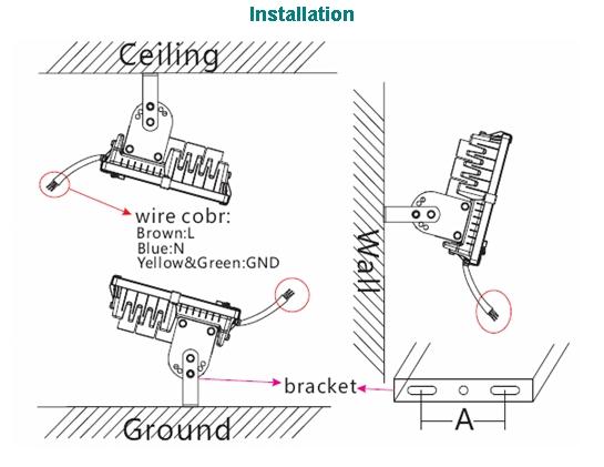 Wiring Diagram 100w Led Flood. Wiring. Wiring Diagrams