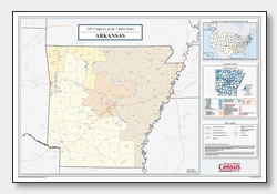 Printable Arkansas Maps State Outline County Cities