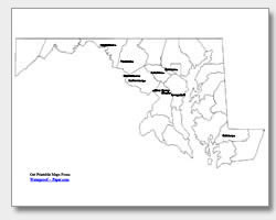 Printable Baltimore County Zip Code Map