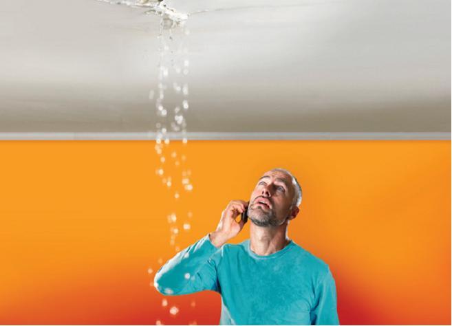 Waterschade plafond Tips en informatie  Waterschadeeu
