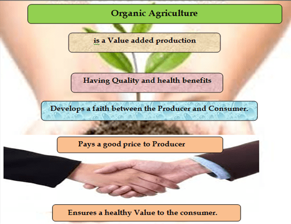 Organic labels stimulates for more positive nutritional value