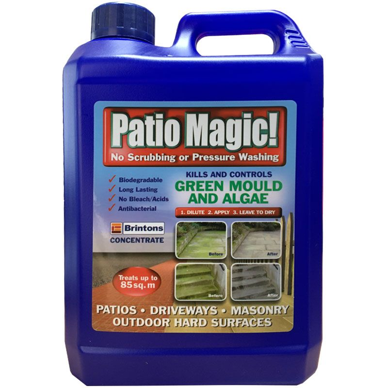 patio magic hard surface cleaner 2 5 l