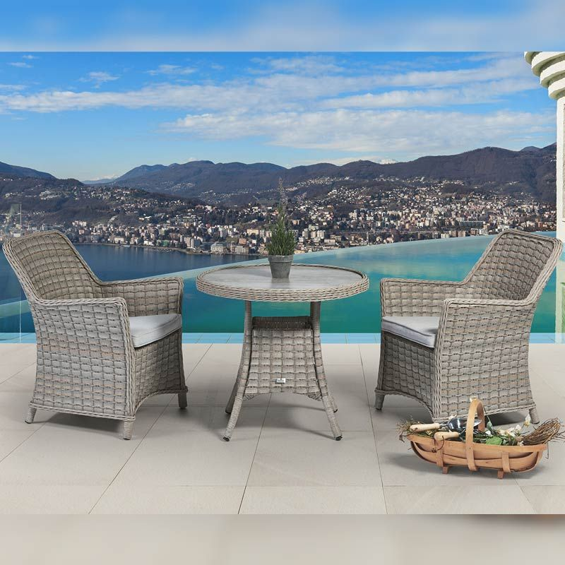 venice 2 seat bistro patio set