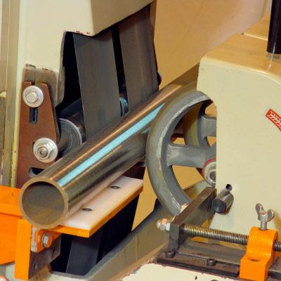 Centerless Belt Grinding Polishing Machine