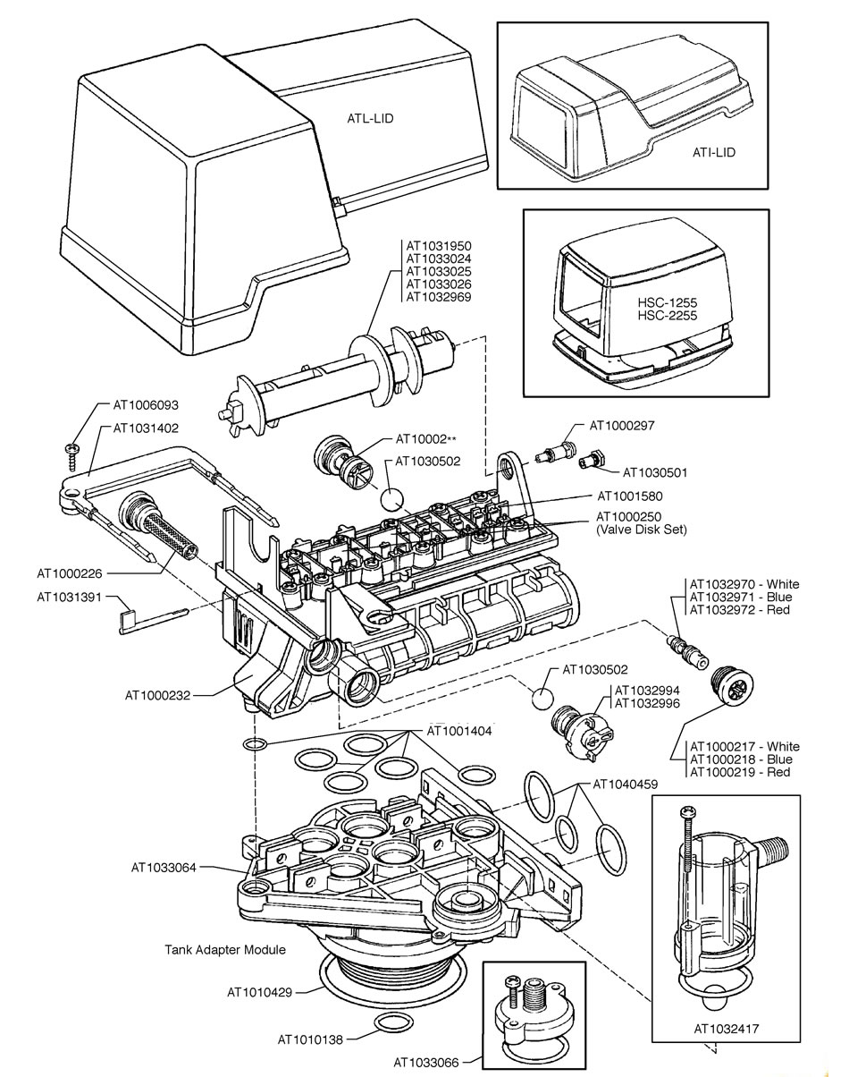 Autotrol water softener 1550-tc Manual Download