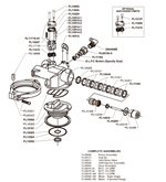 Fleck 2510 water softener control valves