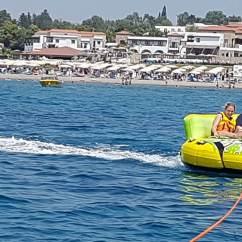 Crazy Sofa Ride Cobalt Blue Rodos Water Sports Action