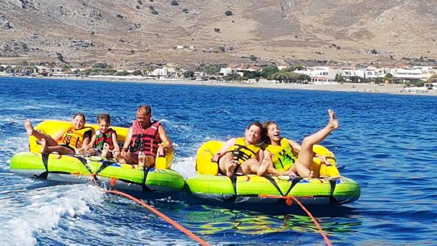 crazy sofa ride urban home rodos water sports action