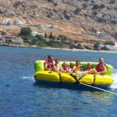 Crazy Sofa Ride Spongebob Flip Open Rodos Water Sports Action
