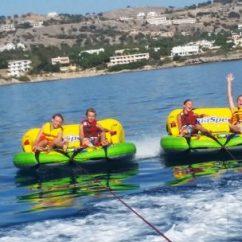 Crazy Sofa Ride Craftsman Table Rodos Water Sports Action