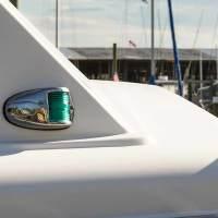 Photos: Boat Navigation Lights in Daytime