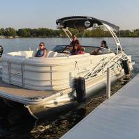 Photos: Boat Fenders in Use at the Dock