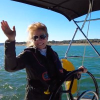 """Video: NauticEd """"Woman Sailing With Life Jacket"""" B-Roll"""