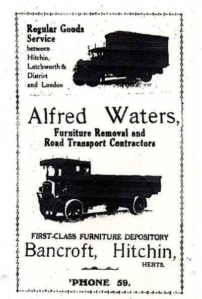 Early Waters advert