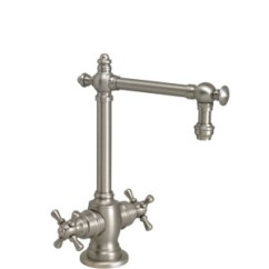 Waterstone Annapolis Kitchen Faucet Stainless Steel Trash Can Towson Hot And Cold Filtration Tap – Cross Handles ...