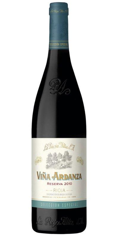 La Rioja Alta Vina Ardanza Reserva 2010