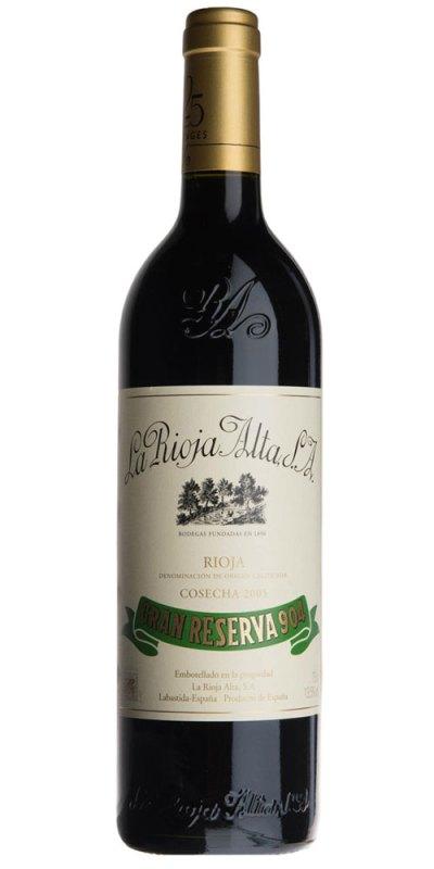 La Rioja Alta 904 Gran Reserva 2010