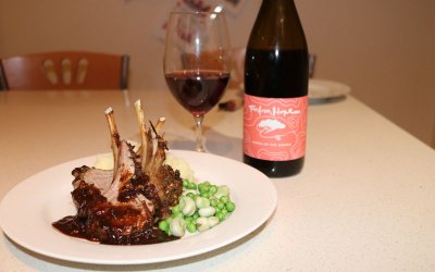 Bistro in the Burbs – Parmesan and herb-crusted lamb rack