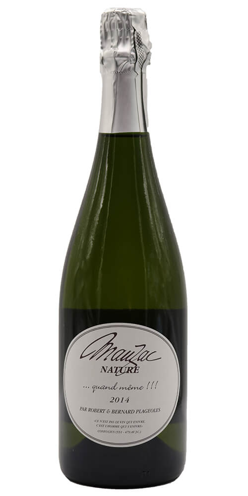 Robert and Bernhard Plageoles Mauzac Nature Sparkling 2014