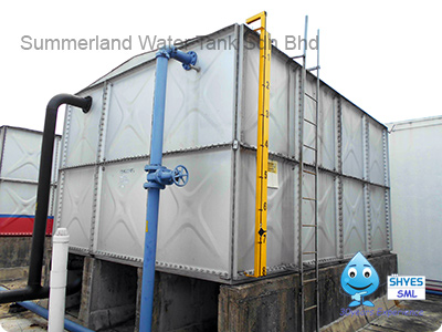 Sectional Panel Pressed Steel Tank (PST Tank)