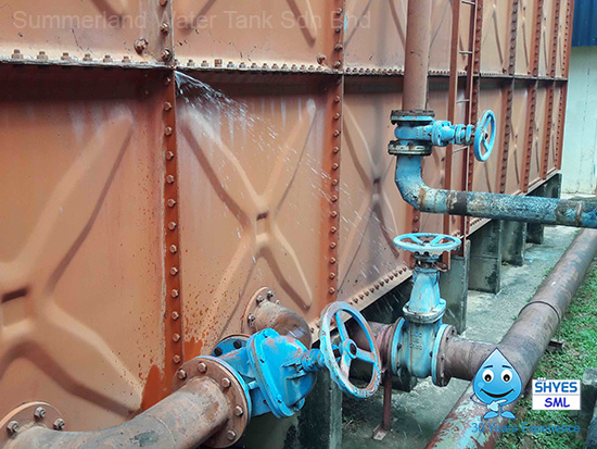 Water Tank Repair in Malaysia, Water Tank Leakage Repair