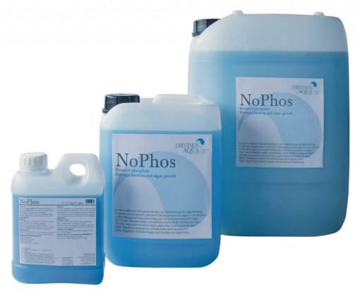 NoPhos removes phosphates that enter the pool from the water supply