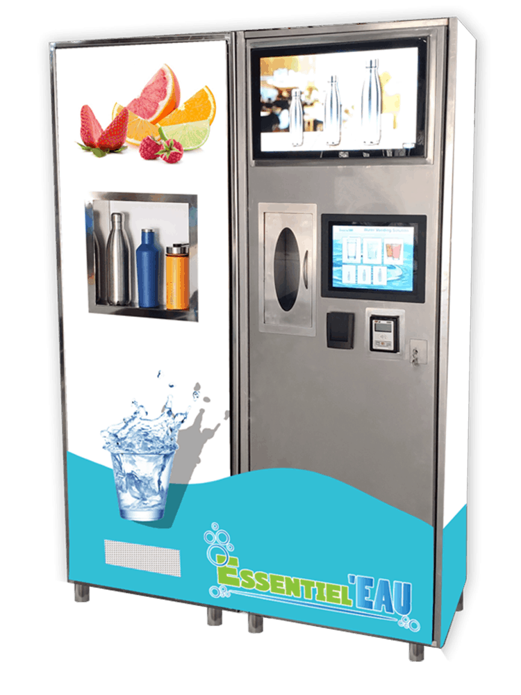 Stainless-Steel-Water-Vending-Machine