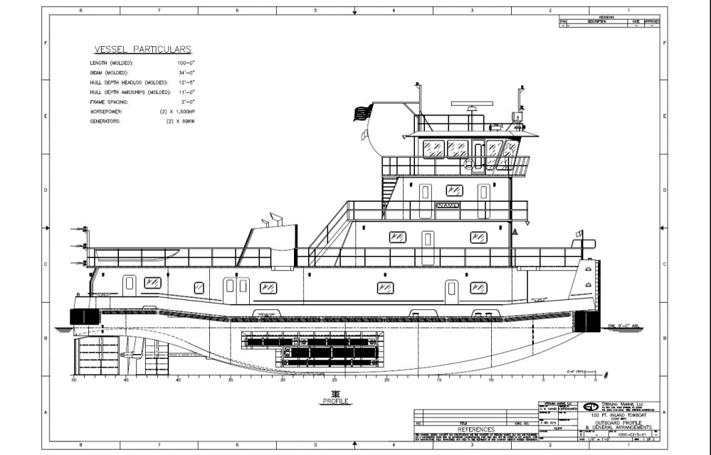 medium resolution of enterprise embarks on towboat barge build program the waterwaysdrawing of a forthcoming enterprise towboat a