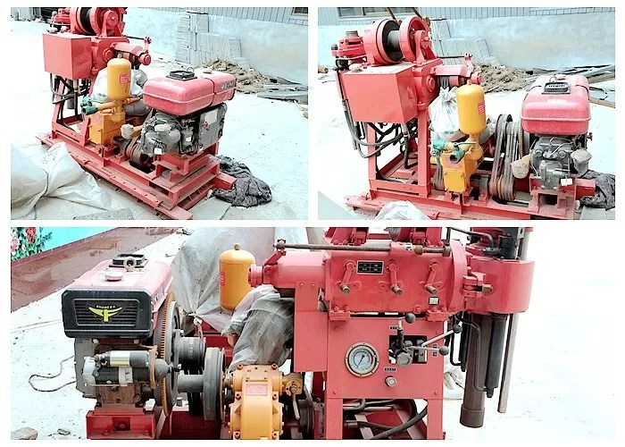Small Sized Geological Drilling Rig Machine For Mineral Exploration 380V