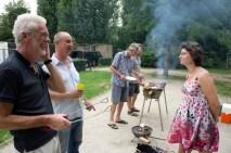 Barbecue in de wijk
