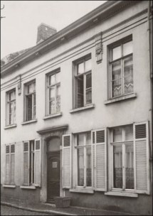 Voorgevel ca. 1900. Bron: Beeldbank Gent